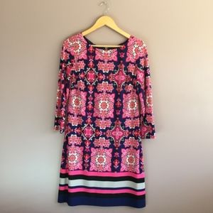 Vince Camuto Women's EUC Multicolored Dress Size 8